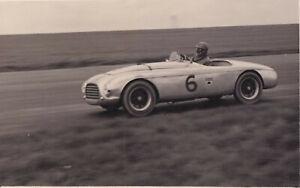 COOPER M.G. CAR No.6, DRIVEN BY CLIFF DAVIS  PHOTOGRAPH.