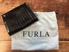 Black Furla Clutch Bag