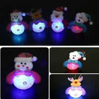 Ornament LED Light Christmas Santa Christmas Tree Decorations Christmas