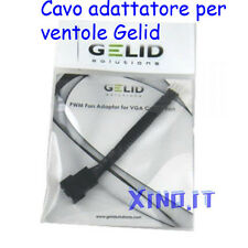 CAVO ADATTATORE from PWM to VGA Adaptor Cable for PC Fan Cooler 3 / 4 PIN GELID