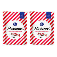 2 x Fazer MARIANNE Chocolate Filled Mint Candies 120g 4.2oz