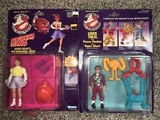 Jeanine Melnitz & Louis Tully Sealed Kenner Real Ghostbusters Action Figures