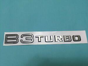NEW EMBLEM BADGE B3 TURBO FOR ALPINA E36 E46 E90 E91 323i 320i 318i
