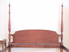 Henkel Harris Cherry King Size Rice Carved Bed