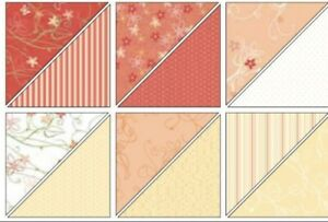 Stampin Up SUNNY GARDEN Designer Series Paper DSP 12 x 12 - OPENED