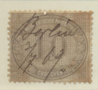 North German Confederation Stamp Scott #25, Used, Pen Cancel, Good Appearance