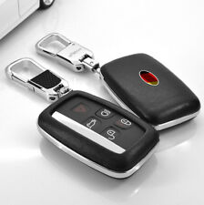 FOB Key Cover  Fit For Land Rover LR4 Range Rover Evoque Car Remote Leather Case