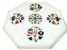 Marble coffee Table Top Semi Precious Stones Inlaid Work For Home Furniture