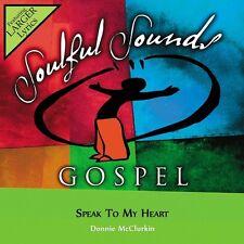 Donnie McClurkin - Speak To My Heart - Accompaniment CD New