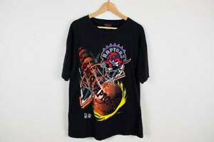 Vintage 90s Toronto Raptors T-Shirt Vince Carter Tracy McGrady Magic Johnson ...