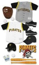 EK Success Jolee MLB Pittsburg Pirates Scrapbook 3D Uniform Stickers MLBJB021