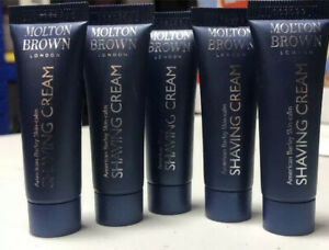 Molton Brown Shaving Cream 5x 7ml Travel Size