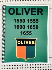 1555 Oliver Tractor Technical Service Shop Repair Manual