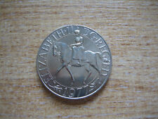 SILVER JUBILEE CROWN COIN - 1977