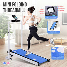 Folding Mechanical Treadmill Fitness Gym Home Sport Walking Equipment Silent