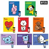 BTS BT21 Official Authentic Goods Cylindrical case 150pcs Jigsaw Puzzle + Track#