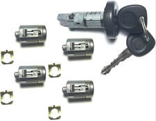 Express Savana Van 08-14 OEM Ignition & 4 Door Lock Cylinders Alike 2 GM Keys