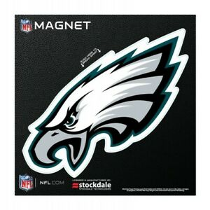 """PHILADELPHIA EAGLES 6""""X6"""" DIE-CUT MAGNET FOR INDOOR OR OUTDOOR USE HIGH QUALITY"""