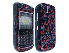 Solid Plastic Design Phone Case Polka Cherry For BlackBerry Tour 9630