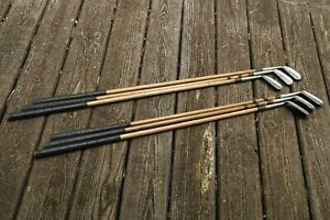7 Club Iron Set Hickory Shaft Louisville Golf Precision For Play