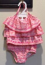 y new 2PC Carter's Ruffled Baby Girls Top Bottom Swimwear US Size 24 Months 2T