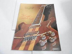 VINTAGE MUSICAL INSTRUMENT CATALOG #10337 - 1978 GRETSCH SOUND GUITAR