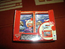 Very Rare Disney Pixar Cars bbb Lollipops With Mix And Match Cards Sealed Box