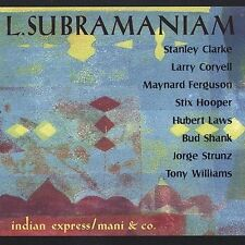 FREE US SHIP. on ANY 3+ CDs! NEW CD L. Subramaniam: Indian Express Mani & Co