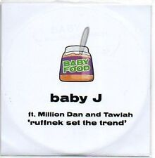 (685B) Baby J, Ruffnek Set the Trend - DJ CD