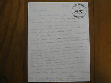 FRAN  BUCKLESS  Signed 1983  Letter ALASKA-FAIRBANKS  Women's  Basketball  Coach