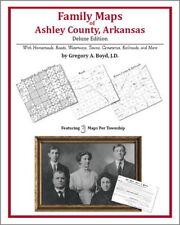 Family Maps Ashley County Arkansas Genealogy AR Plat