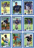 2010 Bowman Chrome & Prospects & Team USA Blue Refractor /250 or /150 You Pick