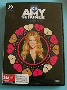 INSIDE AMY SCHUMER Season 3 DVD Region 4 see below