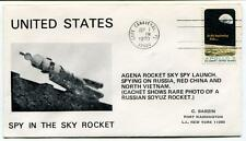 1970 Spy In The Sky Rocket Agena Launch Russia Red China North Vietnam Canaveral