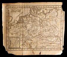 [CARTE MAP GERMANY DEUTSCHLAND] DESBRULINS Carte de l'Empire d'Allemagne. 1744.