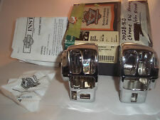 Harley Touring Chrome Switch Housing Set Road Glide King Electra 1996-Later