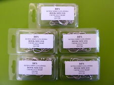 120 DFS 2/0 3/0 4/0 GANG FISHING HOOKS, tinned, chemically sharp 40 ea. size