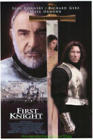 FIRST KNIGHT MOVIE POSTER Original SS 27x40 Final  SEAN CONNERY RICHARD GERE