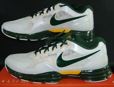 New Mens 18 NIKE Lunar Trainer TR1 PF Green Yellow Green Bay Packers Shoes$125