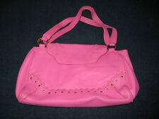 Brand new pink leather handbag by Suzy Smith