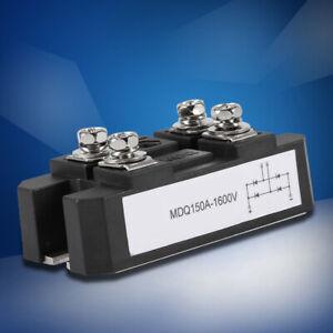 Module MDQ150A / 1600V de redresseur de pont à diode monophasé noir 150A amp