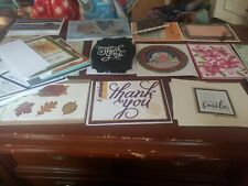 Greeting Cards Handmade lot of 29 assorted Birthday, Thanks and others