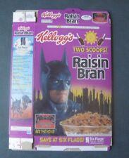 Batman/George Clooney--1997 Kellogg's Raisin Bran Cereal Box