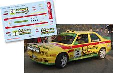 Decal 1:43 Daniel Sordo - BMW M3 - Rally Rutas Cantabras 2009