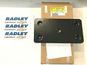NEW OEM GM 15-17 CADILLAC ESCALADE FRONT LICENSE PLATE MOUNT BRACKET  23158734