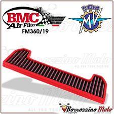 FILTRE À AIR SPORTIF BMC FM360/19 MOTO MV BRUTALE BRUTALE 910 R 2006 2007