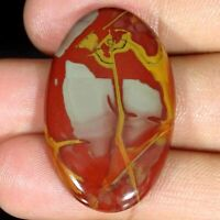 35.00Cts Natural Noreena Jasper Oval Cabochon Loose Gemstone 23x37x5mm