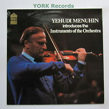 SMF 235 - YEHUDI MENHUHIN - Introduces The Instruments Of The Orchestra - Ex LP