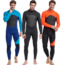 Men 3mm Neoprene Scuba Snorkeling Surf Wetsuits Free Dive Long Warm Dive Suits