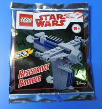LEGO Minifiguren LEGO STAR WARS Limited Edition RESISTANCE BOMBER LEGO Bau- & Konstruktionsspielzeug Bauanleitung NEU OVP Fahrzeug
